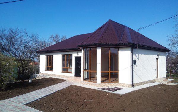 Продается новый жилой дом 106 м.кв. на участке 4,5 сотки в СТ Космос на Фиоленте