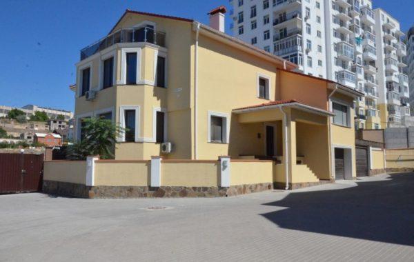 Продается новый 3-х этажный дом у моря в поселке Дримтаун, г. Севастополь