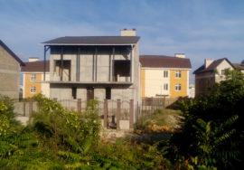 Продается недостроенный 3-х этажный дом по адресу ул. Парковая 8/9, г. Севастополь