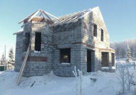 Строить дом зимой – вполне реальная задача