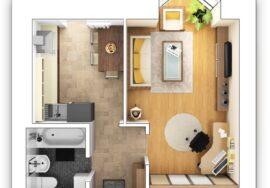 Как выбрать однокомнатную квартиру: планировки и нюансы