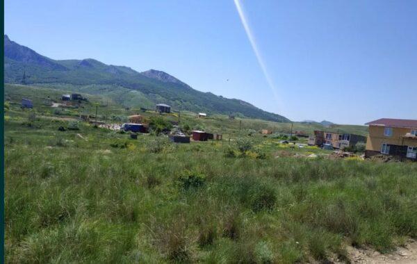 Продается земельный участок 8 соток в Крыму, пгт Коктебель, ул. Солнечная 25