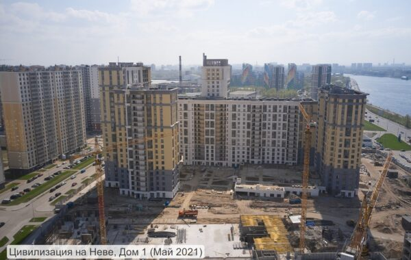 Продается 1-комнатная квартира 35.9 м.кв. в ЖК «Цивилизация на Неве», г. Санкт-Петербург